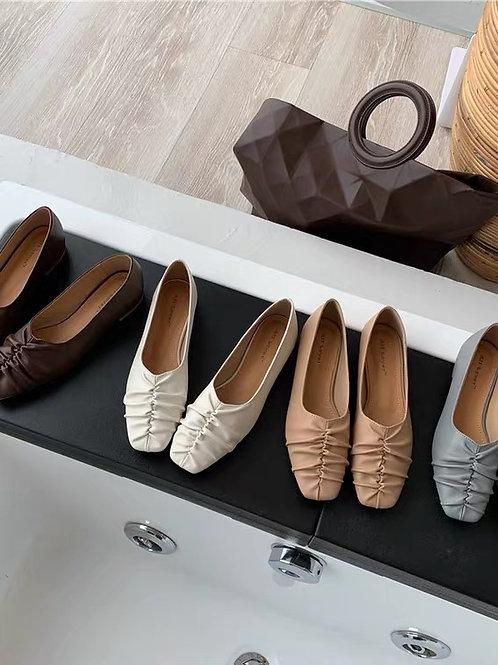 SE304 簡約瑪麗珍平底鞋