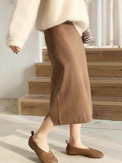 SH746 休閒氣質彈力針織半身裙