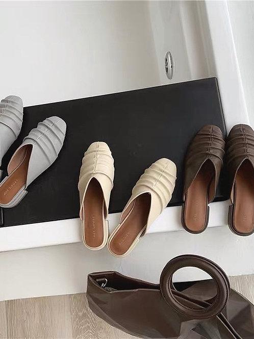 SE274 韓版設計感休閒拖鞋