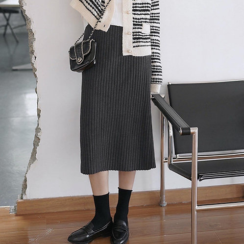 SH578 顯瘦針織百搭半身裙