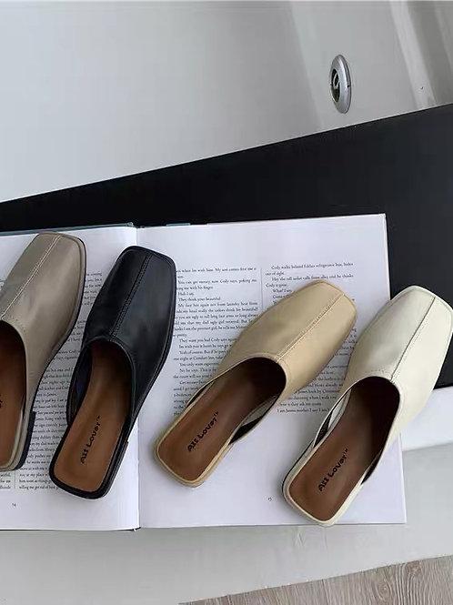 SE303 日系百搭包頭拖鞋