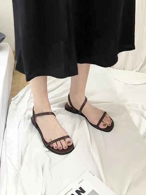 SE038 簡約休閒平底涼鞋