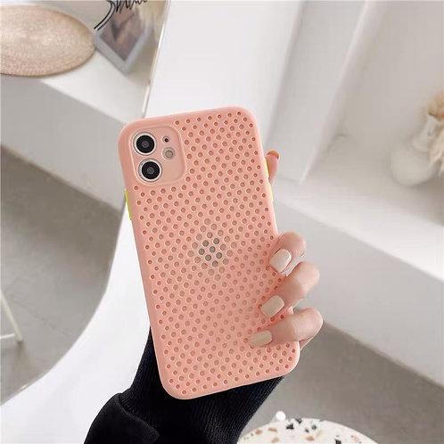 CS243粉色透氣包邊軟殼