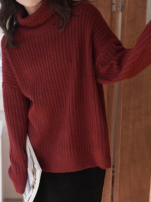 SH669 簡約條紋針織上衣