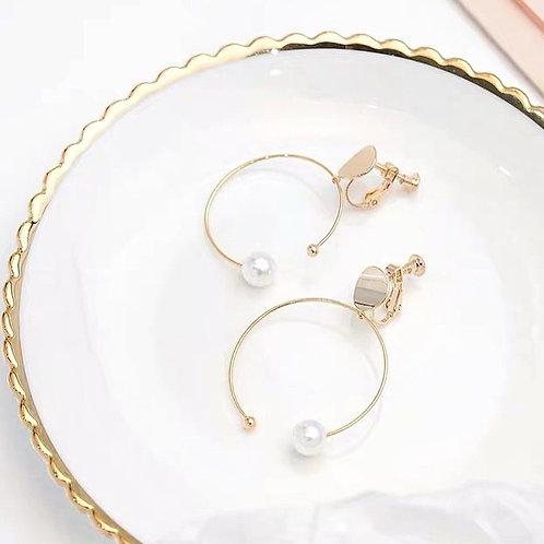 韓版不規則耳環(925銀針/耳夾)