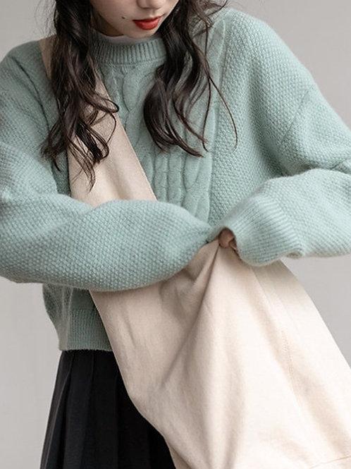 SH571 休閒舒適軟綿綿針織上衣