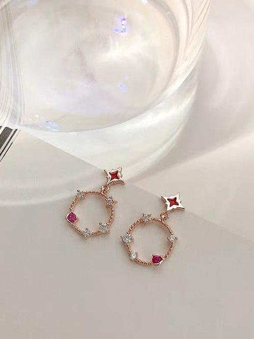 ER019 別緻森系耳環(925銀針)