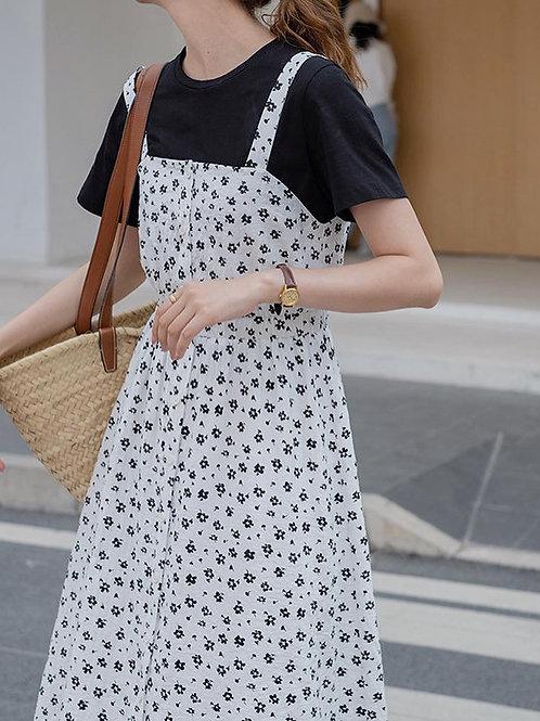 SH898 小清新休閒連衣裙