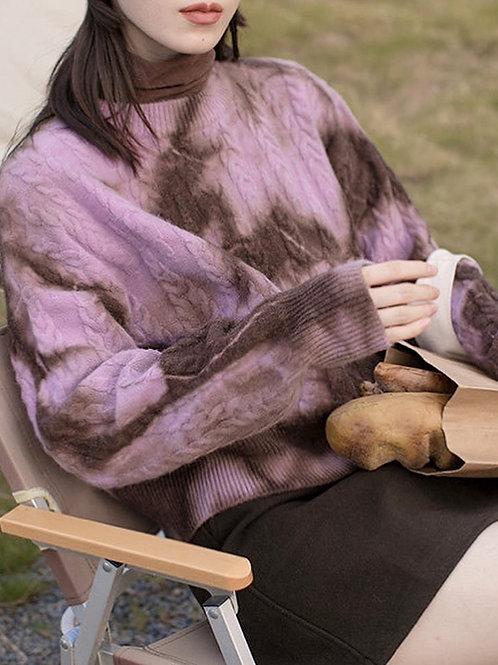 SH590 休閒混色針織上衣