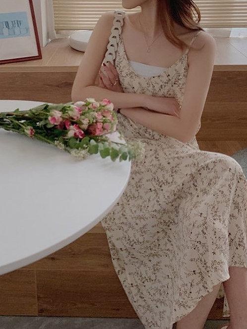 SH892 氣質雪紡吊帶連身裙