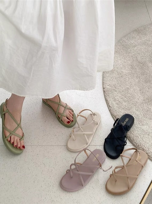 SH367 韓系設計感休閒涼鞋