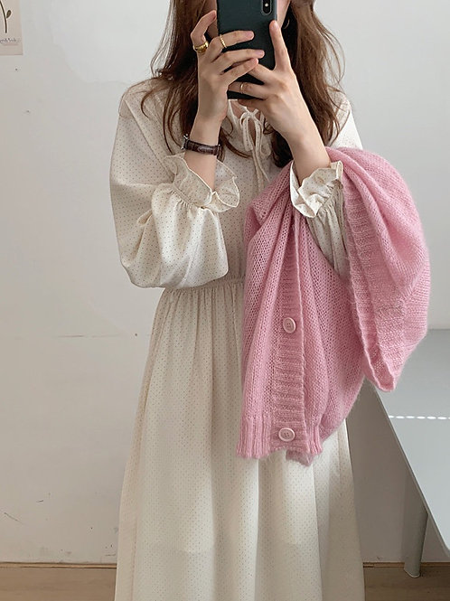 SH825 休閒氣質雪紡連身裙