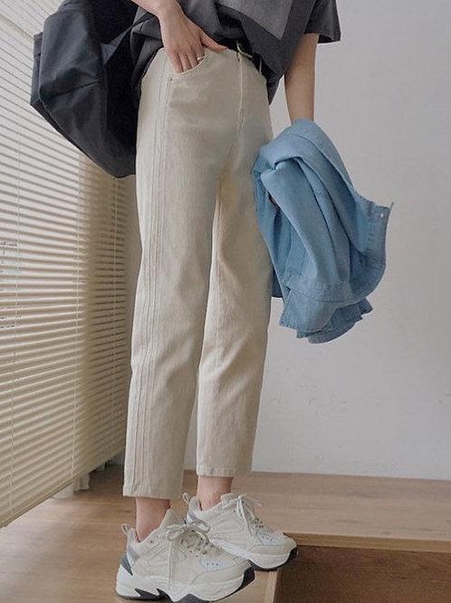 SH866 休閒顯瘦直筒褲