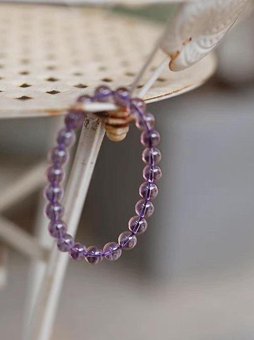 CR159 「助學業」紫水晶手鏈
