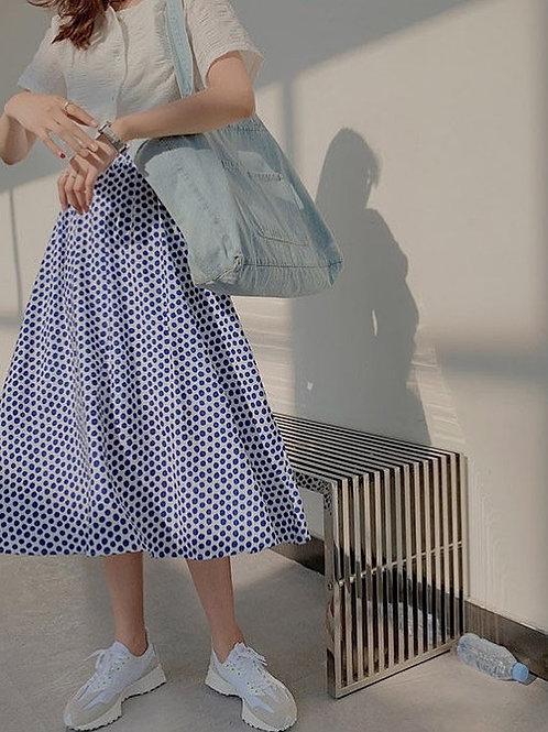 SH104 別緻減齡波點裙