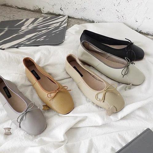 SE049 簡約蝴蝶結平底鞋