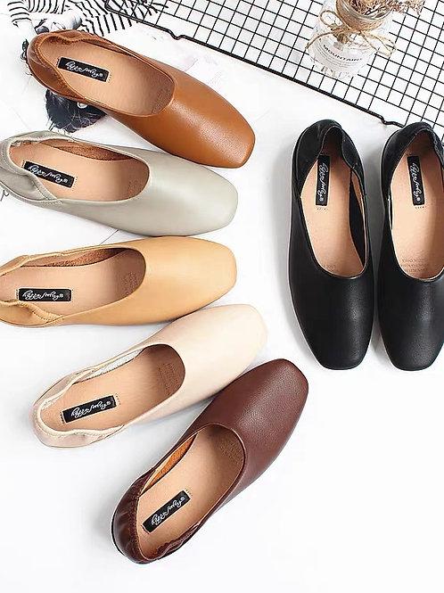 百搭純色平地鞋