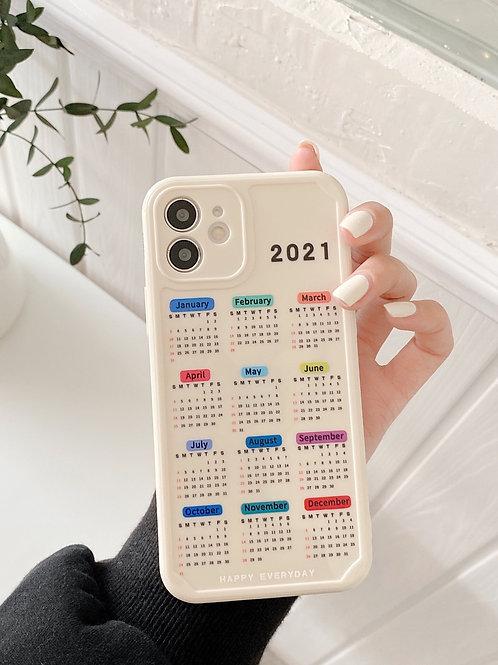 CS618韓風2021日曆包邊軟殻