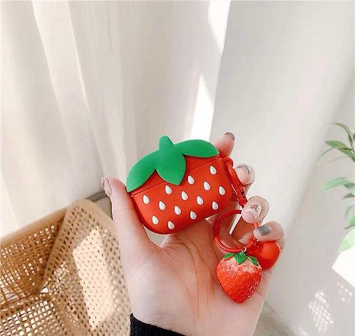 CS301韓風草莓Airpods保護套