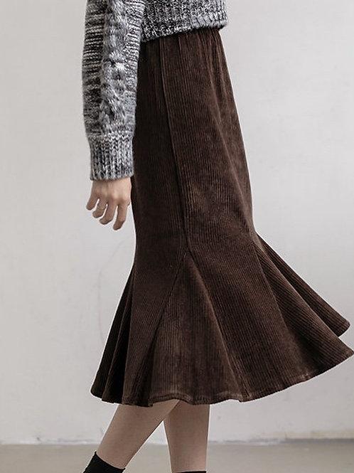 SH570 氣質魚尾顯瘦半身裙