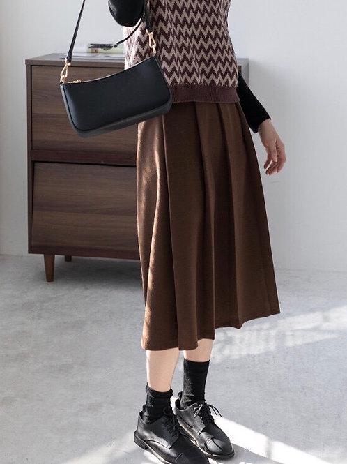 休閒百褶半身裙
