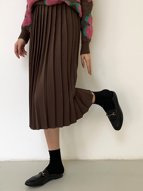 SH667 簡約休閒百褶半身裙