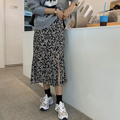 SH505 秋季魚尾開叉半身裙