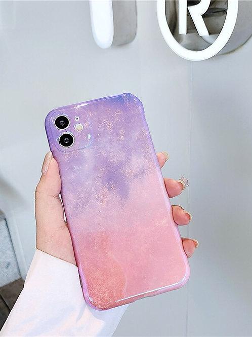 CS451粉紫星空包邊軟殻