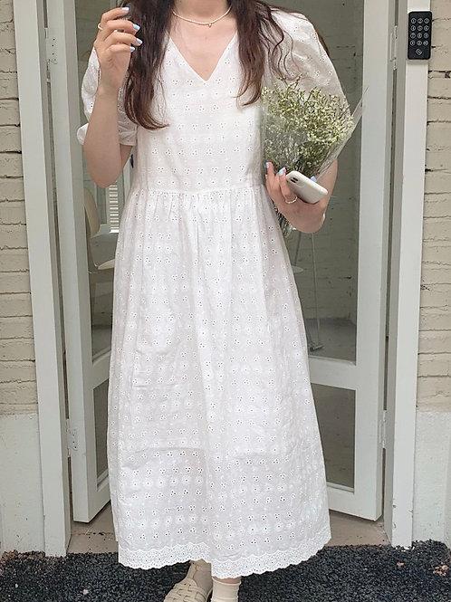 SH912 仙氣蕾絲連身裙
