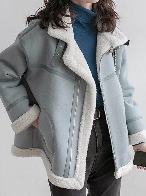 SH688 氣質百搭羊羔外套