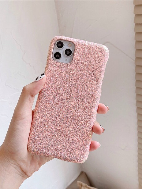 CS520粉紅閃粉軟殻