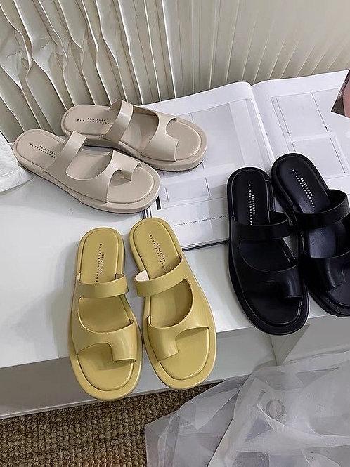 SE379 夏季百搭休閒拖鞋