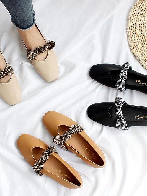 SH233 可愛蝴蝶結平底鞋
