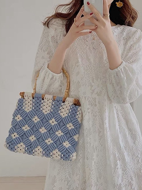 SH895 仙氣蕾絲花朵連衣裙