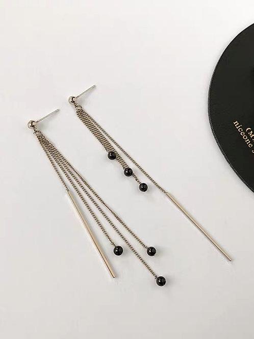 ER012 氣質線條感耳環(925銀針/耳夾)