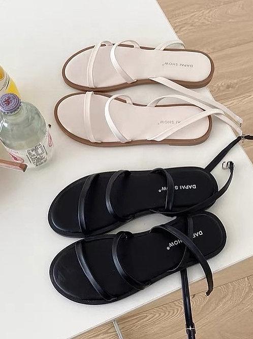 SE351 休閒一字帶涼鞋