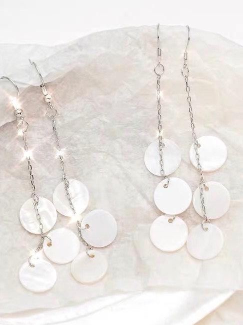 韓風精緻貝克耳環(銀針/耳夾)