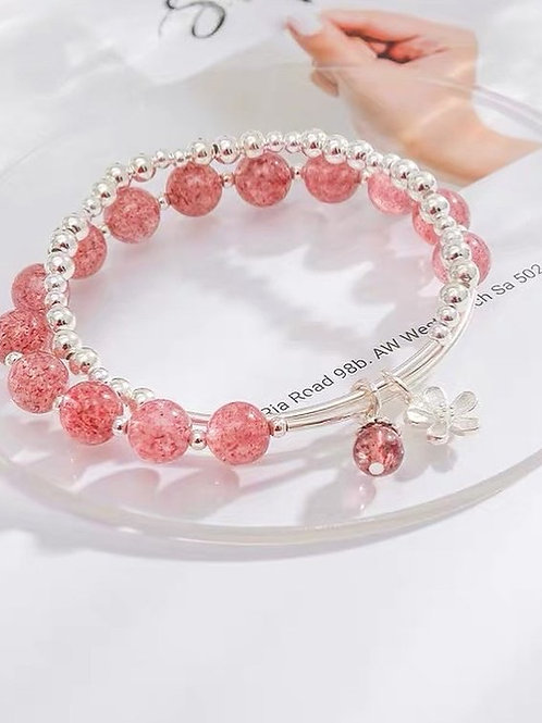 CR146 「提升愛情運」草莓晶項鍊