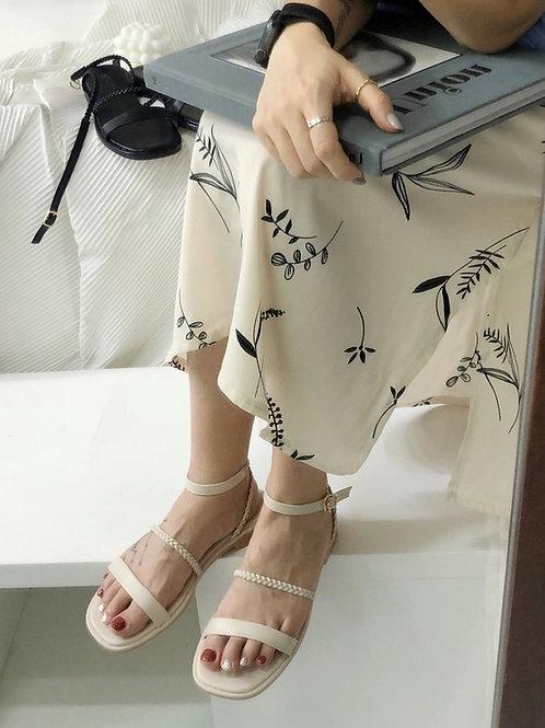 SE341 純色羅馬軟底涼鞋