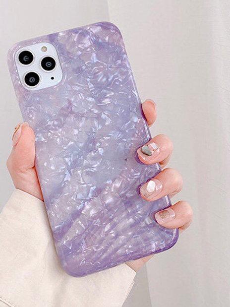 CS762夢幻紫貝殻包邊軟殻