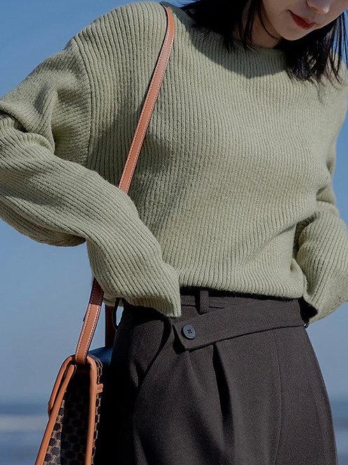 SH703 休閒條紋針織上衣
