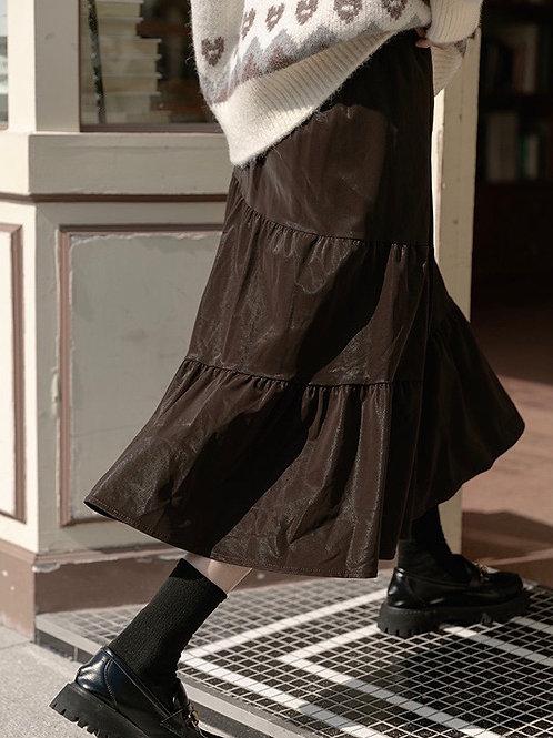 SH661 不規則魚尾半身裙