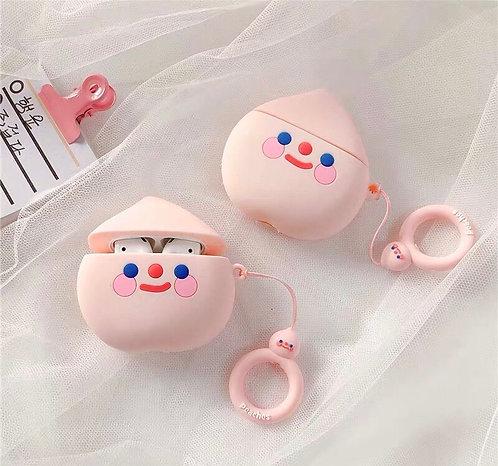CS302粉色笑臉Airpods保護套
