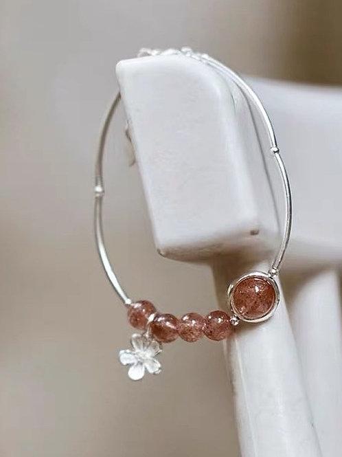 CR149  「提升愛情運」草莓晶手鏈