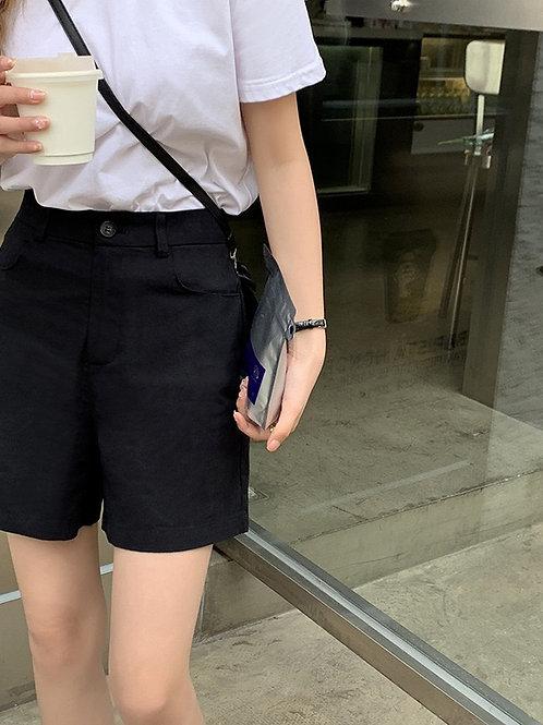 SH056 純色百搭休閒短褲