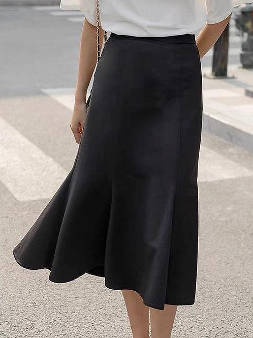 SH869 高腰顯瘦百搭魚尾裙