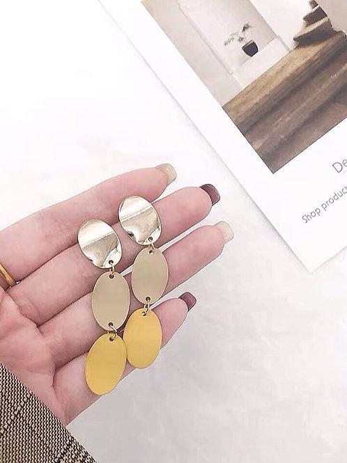 韓風簡約百搭耳環 (925銀針/耳夾)