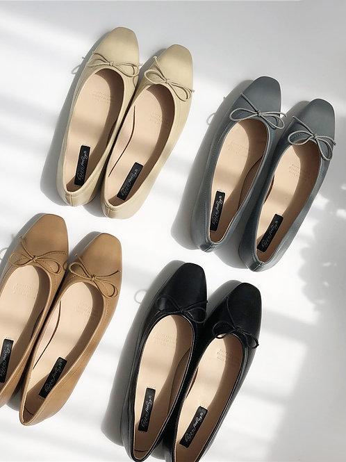 SE154 簡約蝴蝶結平底鞋