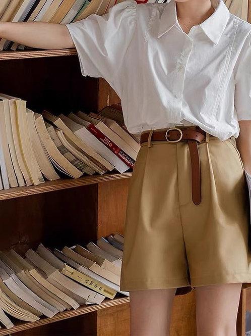 SH945 西裝布休閒短褲