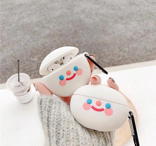 CS264簡約笑臉Airpods保護套